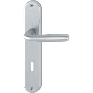 Hoppe Door Handle on Plate - Maribor - 1766/3022P