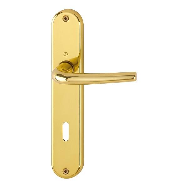 Maniglia hoppe con placca per porta serie seattle 168l 3022p - Smontare maniglia porta ...