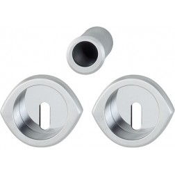 Hoppe - Flush Pull Handle With Keyhole - Monte Carlo Series - M425
