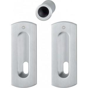 Hoppe - Maniglia Per Porta Scorrevole Foro Chiave - Kit Rettangolare M463