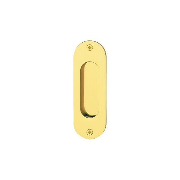 Hoppe - Maniglia Per Porta Scorrevole - Singola Ovale M429