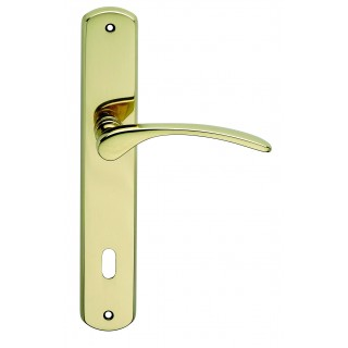 Door Handle -  Apro - Mezzaluna - Made In Italy