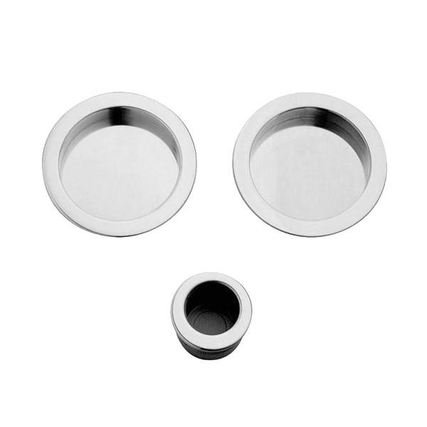 Maniglia ad Incasso Per Porta Scorrevole - Apro - Kit Tondo K002