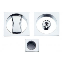 Sliding Door Handle -  Apro - Square Set K001Q - Made in Italy