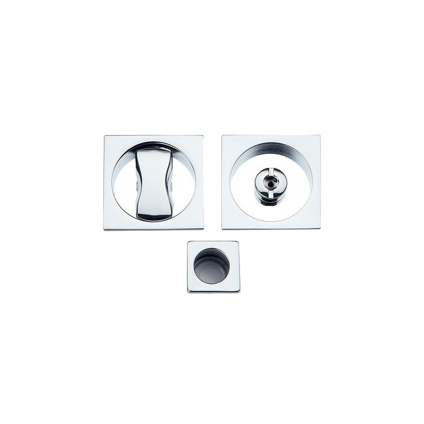 Maniglia ad Incasso Per Porta Scorrevole - Apro - Kit Quadrato K001Q