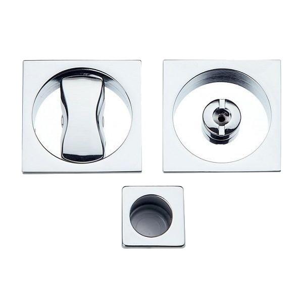 Maniglia ad Incasso Per Porta Scorrevole - Apro - Kit Quadrato K001Q - Produzione Italiana