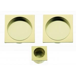Maniglia ad Incasso Per Porta Scorrevole - Apro - Kit Quadrato K002Q - Produzione Italiana
