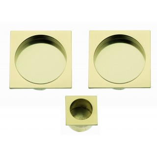 Sliding Door Handle -  Apro - Square Set K002Q - Made in Italy