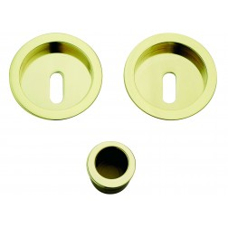 Sliding Door Handle -  Apro - Round Set K003 - Made in Italy