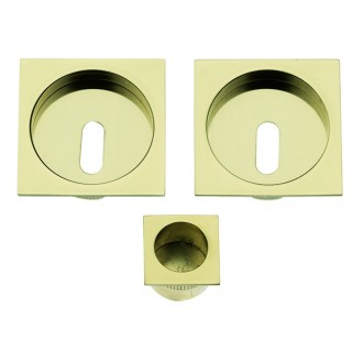 Sliding Door Handle -  Apro - Square Set K003Q - Made in Italy