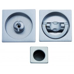 Sliding Door Handle -  Apro - Square Set K004Q - Made in Italy