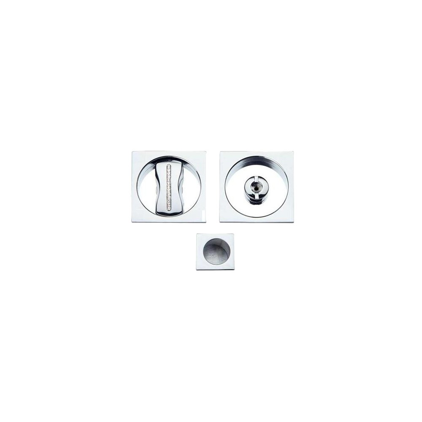 Maniglia ad Incasso Per Porta Scorrevole - Apro - Kit Quadrato K001Q- SW Cristallo
