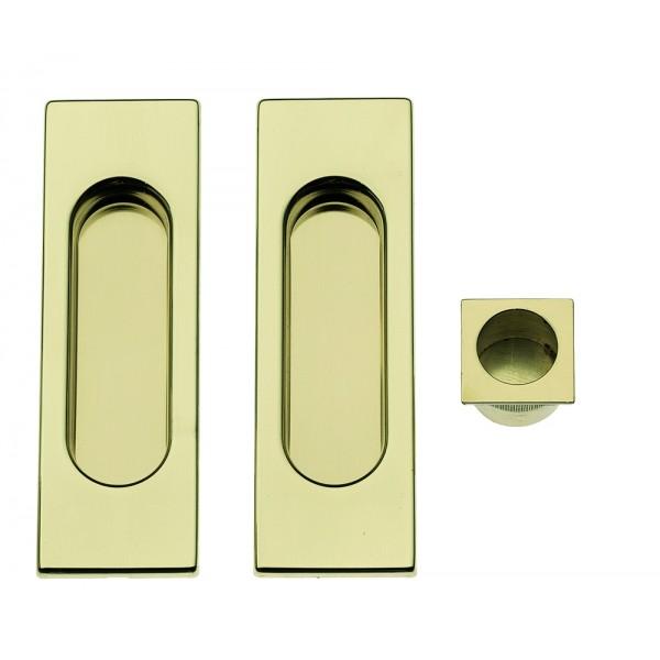 Maniglia ad Incasso Per Porta Scorrevole - Apro - Kit Rettangolare K002Q