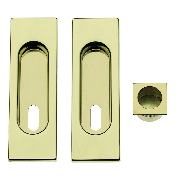 Maniglia ad Incasso Per Porta Scorrevole - Apro - Kit Rettangolare K003Q