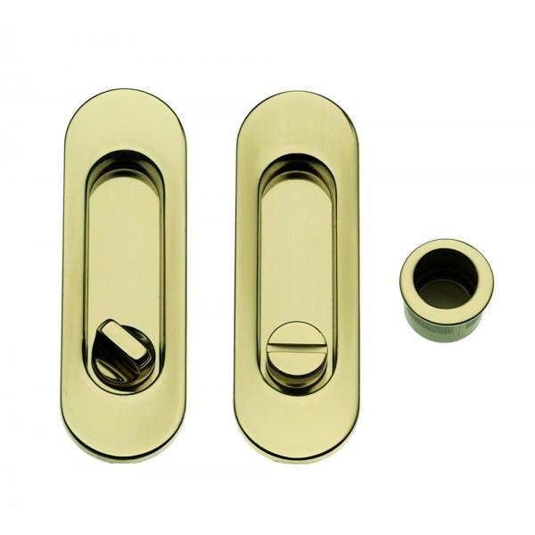 Maniglia ad Incasso Per Porta Scorrevole - Apro - Kit Ovale K001-O - Produzione Italiana