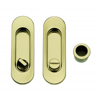 Sliding Door Handle -  Apro - Oval Set K001-O  - Made in Italy