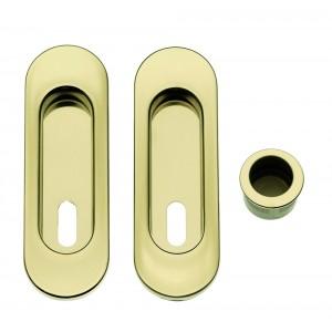 Maniglia ad Incasso Per Porta Scorrevole - Apro - Kit Ovale K003-O - Produzione Italiana