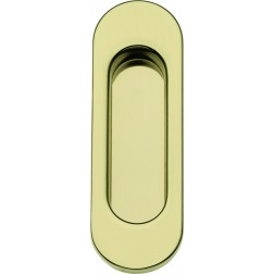 Single Sliding Door Handle -  Apro - Oval Set KS01 - Made in Italy