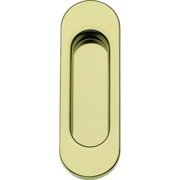 Single Sliding Door Handle -  Apro - Oval Set KS01
