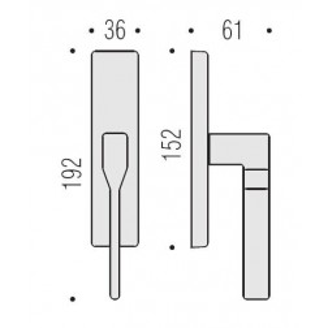 Cremonese Per Finestra - Colombo Design - Daytona - PF12-M