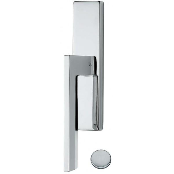 Window Handle on plate - Colombo Design - Electra MS12-IM