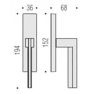 Cremonese Per Finestra - Colombo Design - Electra MS12-IM