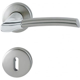 Hoppe - Door Handle - Bergen Series - code M1602/19K/19KS
