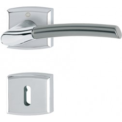 Door Handle -  Hoppe - Bergen - M1602/18K/18KS