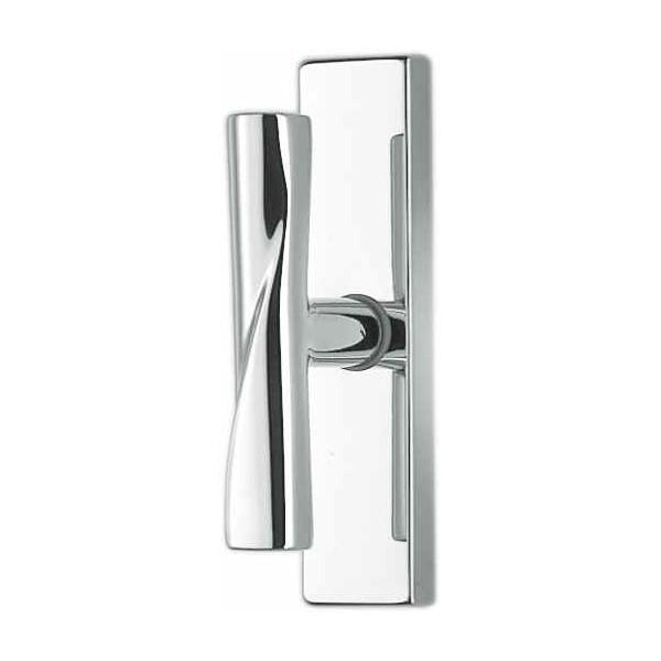 Window Handle on plate - Colombo Design - Libra - SK22-M