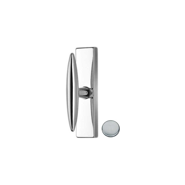 Window Handle on plate - Colombo Design - Pegaso - AM12-M