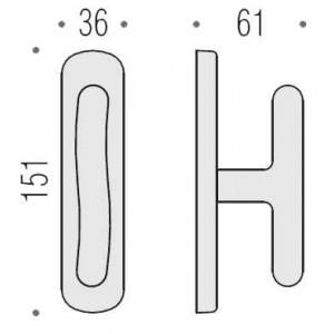 Cremonese Per Finestra - Colombo Design - Sirio - CD12-M