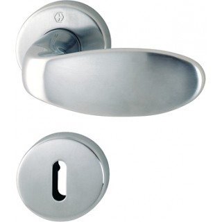 Hoppe  - Door Handle With Knob - Genova series - M35G/19K/19KS