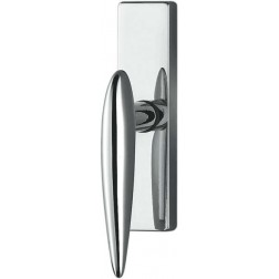 Colombo Design - Window Handle on plate - Wing DB32-IM