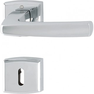 Hoppe Door Handle  - Acapulco series - M1558/18K/18KS