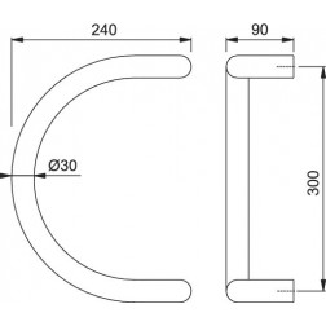 Maniglione Per Porta - Hoppe - 5310