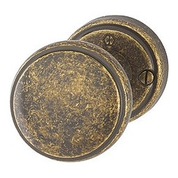 Hoppe - Antique Brass Door Knob - M40HE/15K-2 Series