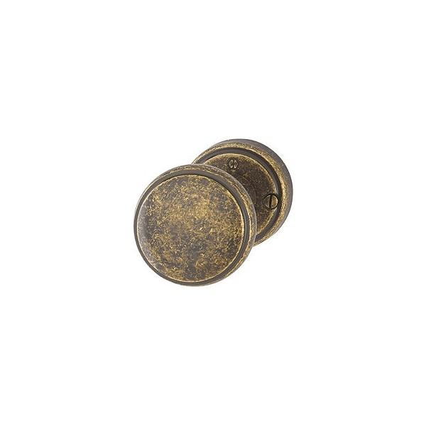 Hoppe - Pomello Antico in Ottone Per Porta - M40HE/15K-2