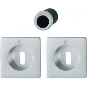 Hoppe - Maniglia Per Porta Scorrevole Foro Chiave - Kit Quadrato M443