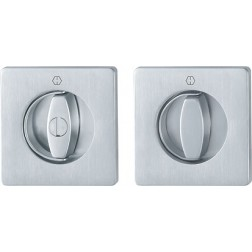 Hoppe - Flush Ring Handle For Folding Doors - Square Set M443