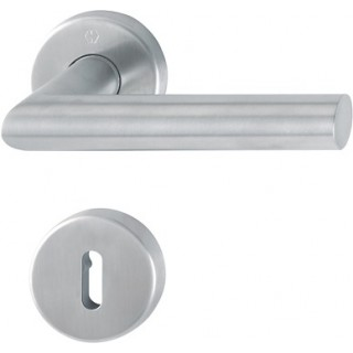 Hoppe - Door handle - Amsterdam series - Stainless steel E1400Z/42K/42KS