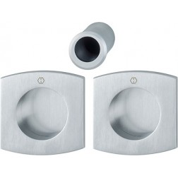 Hoppe - Flush Pull Handle - Square Set M462
