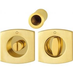 Hoppe - Maniglia Per Porta Scorrevole Con Chiusura/Anello - Kit Quadrato M462