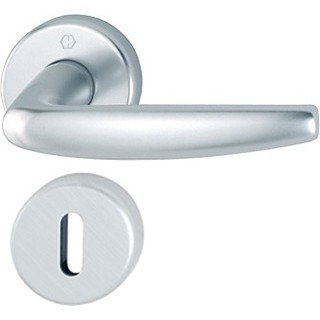 Hoppe - Door Handle - Atlanta series - Aluminium 1530/42K/42KS