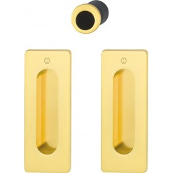 Hoppe - Flush Pull Handle - Rectangular Set M464