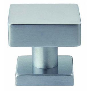Square Door Knob - For Armored Security Doors - Made In Italy