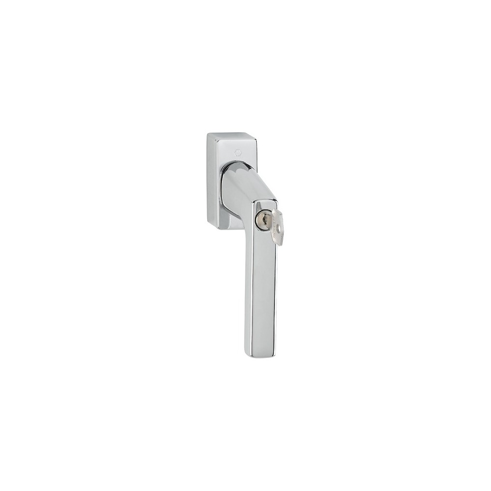 Hoppe Brass Tilt And Turn Window Handle Key Locking