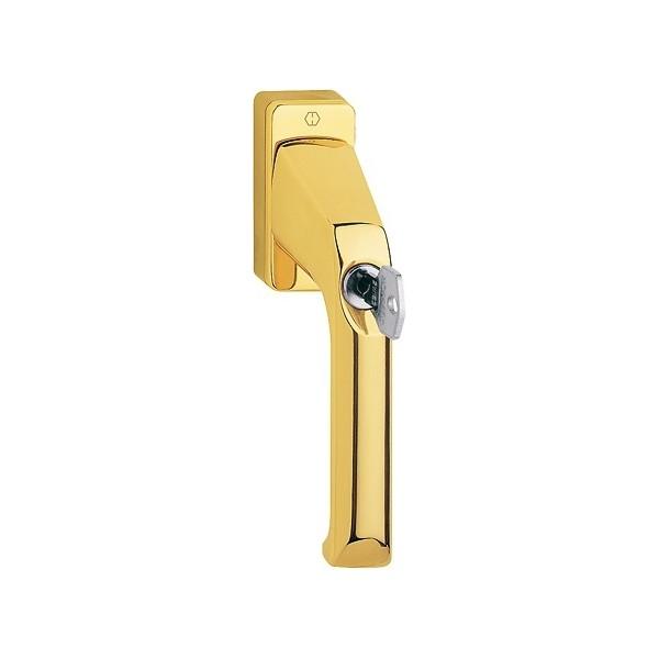 Hoppe London - Tilt & Turn Window Handle - Key Locking - M013S/U11Z