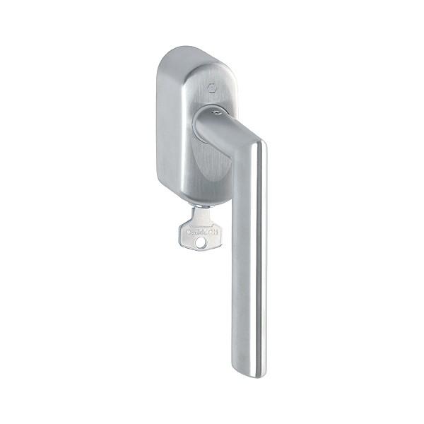 Hoppe - Maniglia Dk In Acciaio Con Chiave - Per Finestra - Bonn E150Z/US950S