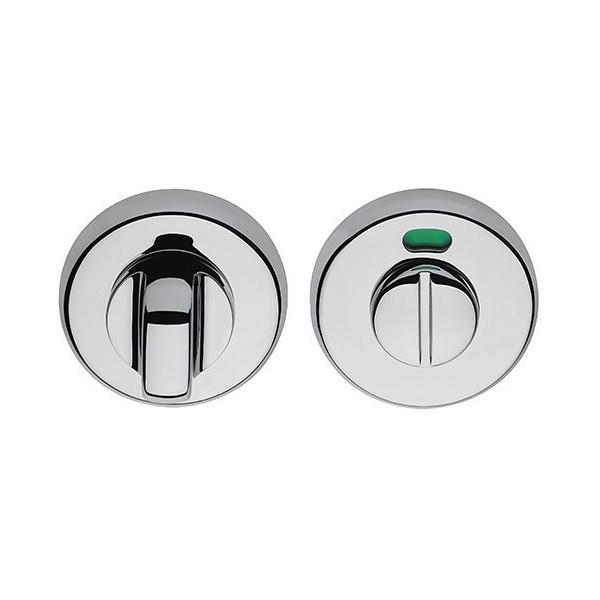 Colombo Design - Bathroom Door Handle Sets With Signaller - CD69-BZG-H
