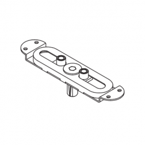 Colombo Design - Meccanismo Graz in Acciaio -  Per Maniglie Cremonesi